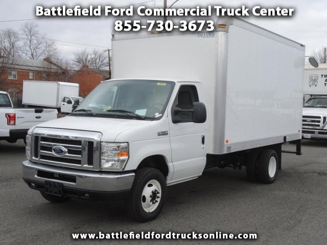 2017 Ford Econoline Commercial Cutaway w/14' Dry Freight Body
