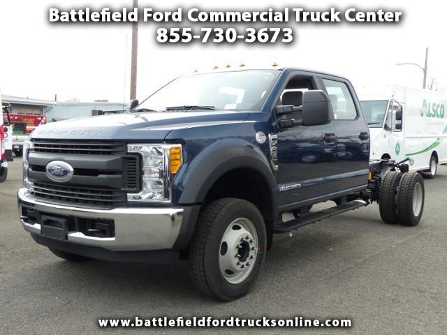 2017 Ford F-450 SD Crew Cab 4x2 XL