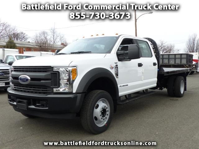 2017 Ford Super Duty F-450 DRW Crew Cab 4x2 XL w/12' Platform Body