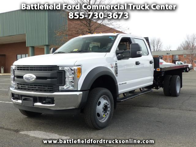 2017 Ford F-450 SD Crew Cab 4x2 XL w/12' Platform Body