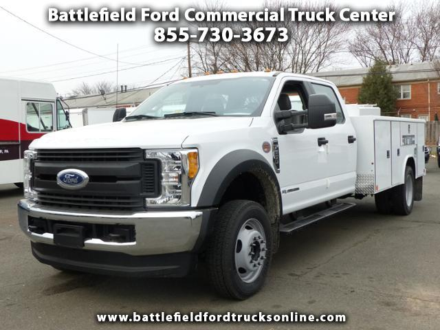 2017 Ford Super Duty F-550 DRW Crew Cab 4x4 XL w/11' Utility Body