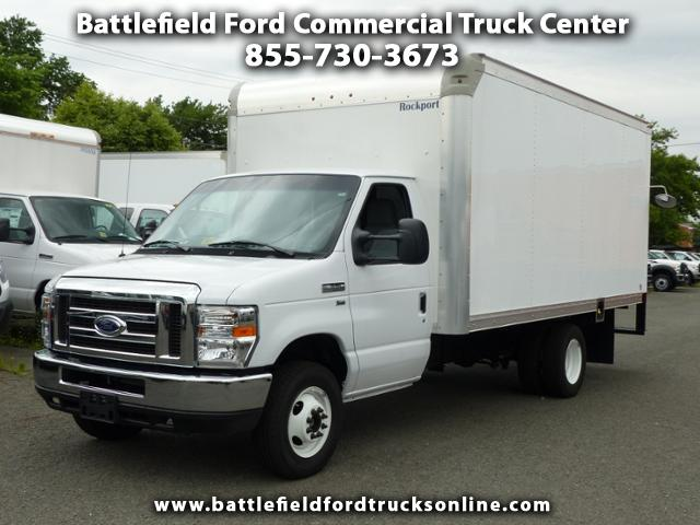 2017 Ford F-350 SD Commercial Cutaway w/15' Dry Freight Body