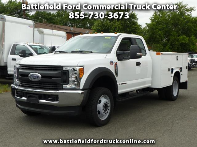 2017 Ford F-550 SuperCab 4x4 XL w/ 9' Utility Body