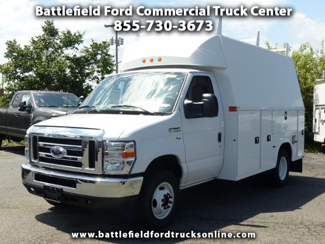 2017 Ford F-350 SD Cutaway w/ 11' Enclosed Utility