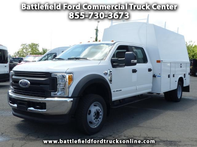 2017 Ford F-550 Crew Cab 4x4 XL w/11' Utility Body