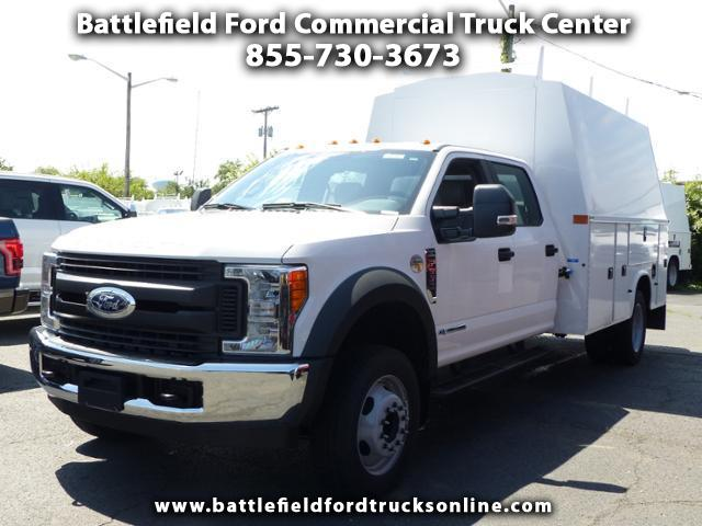 2017 Ford F-550 Crew Cab 4x2 XL w/11' Utility Body