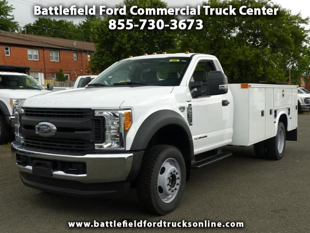 2017 Ford F-550 Reg Cab 4x4 XL w/11' Utility Body