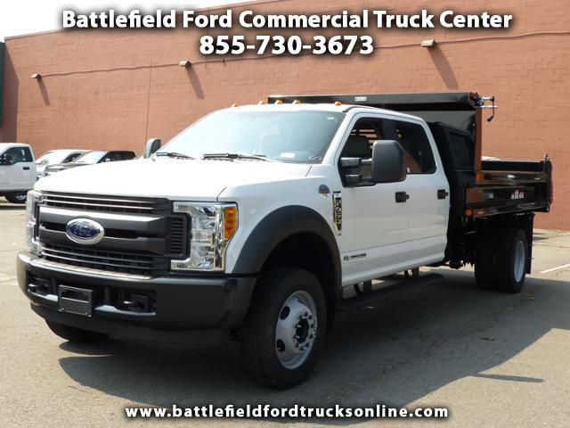 2017 Ford F-450 SD Crew Cab 4x2 XL w/11' Dump Body