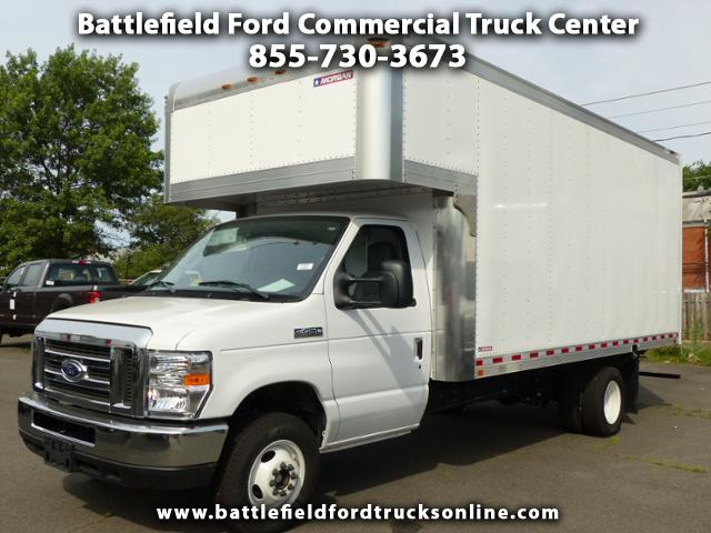 2017 Ford Econoline Commercial Cutaway w/17' Dry Freight Body