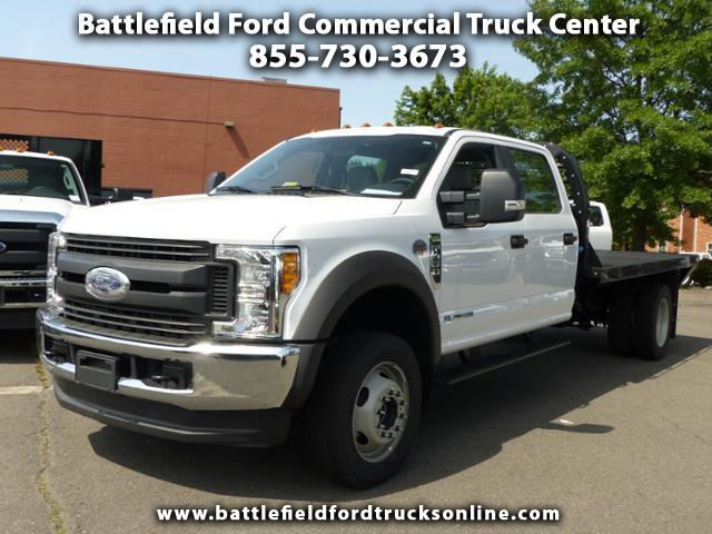 2017 Ford F-450 SD Crew Cab 4x4 XL w/12' Platform Body