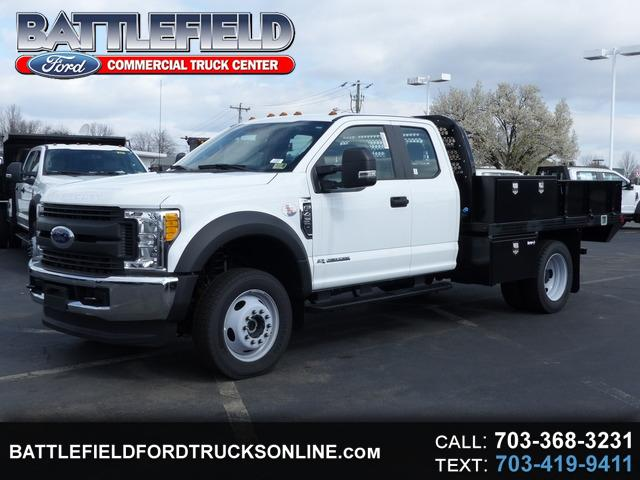 2017 Ford F-450 SD SuperCab 4x4 w/ 10' FLAT BED