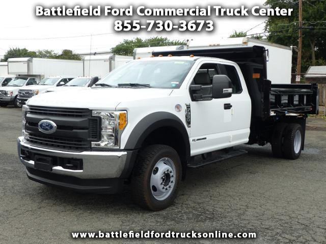 2017 Ford F-550 4WD SuperCab w/ 11' DUMP