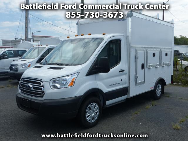 2017 Ford Transit T350 SRW w/ 10' WORKPORT ENCLOSED UTILITY