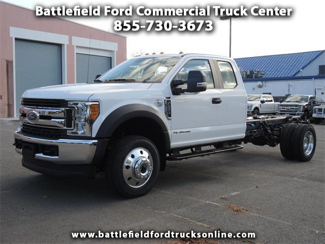 2017 Ford F-550 4WD SuperCab Chassis