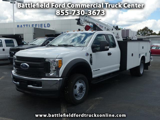 2017 Ford F-550 4WD SuperCab w/ 11' Crane Body
