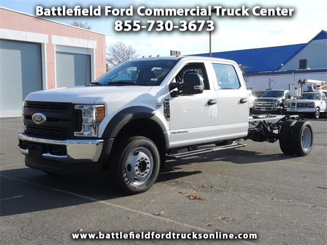 2017 Ford F-550 4WD Crew Cab Chassis