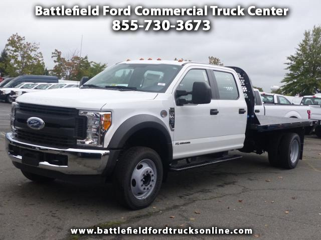 2017 Ford F-450 SD 2WD Crew Cab w/12' FLAT BED