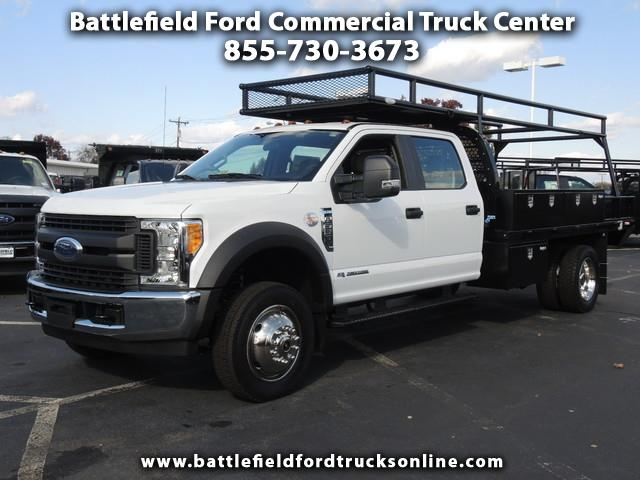 2017 Ford F-550 2WD Crew Cab w/ 12' FLAT BED