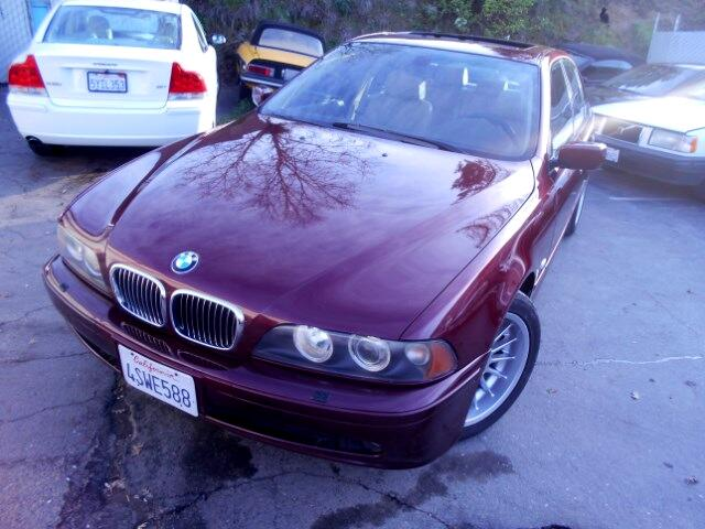 2001 BMW 5-Series 540i 6-speed