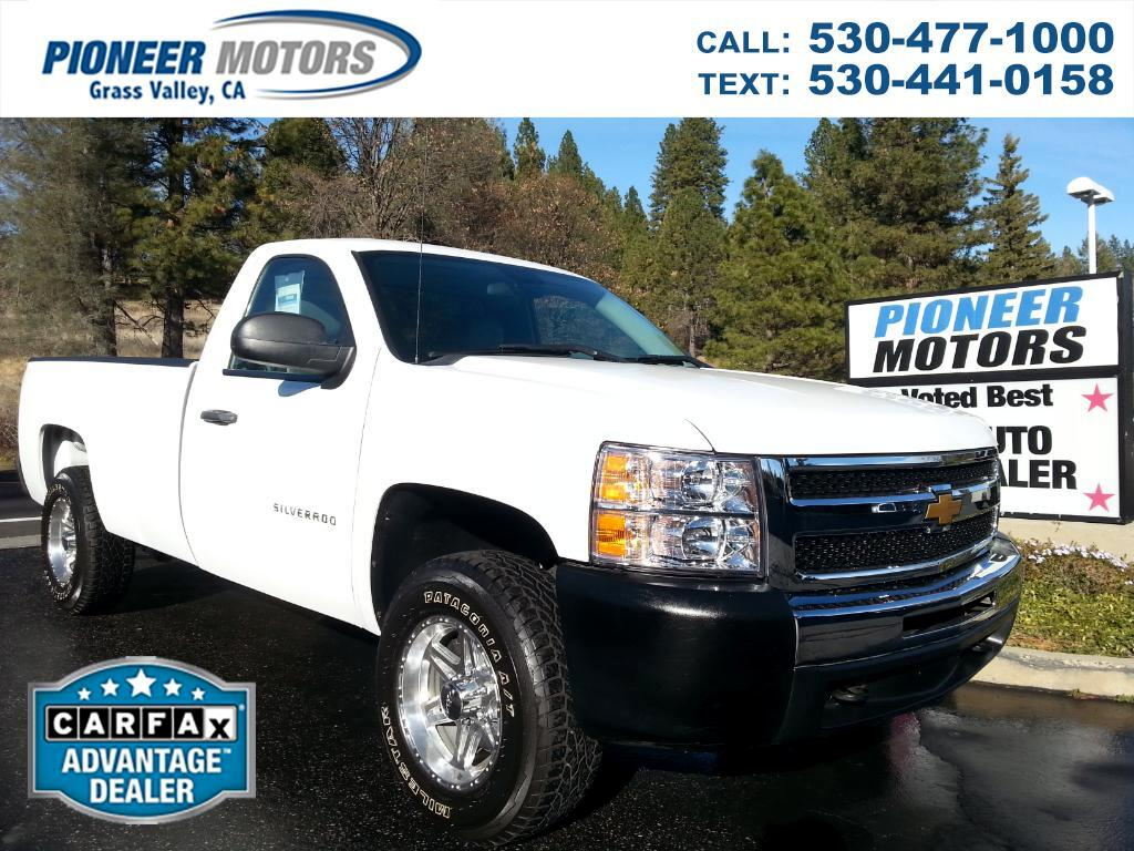 2010 Chevrolet Silverado 1500 Regular Cab 4WD