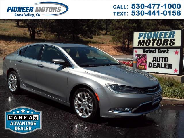 2015 Chrysler 200 C AWD