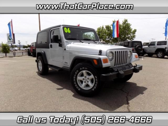 2006 Jeep Wrangler Unlimited Sport 4WD
