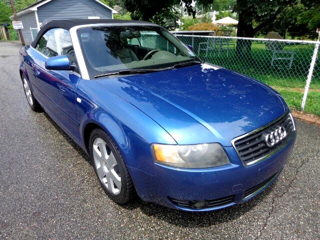 2004 audi a4 3 0 convertible for sale cargurus. Black Bedroom Furniture Sets. Home Design Ideas