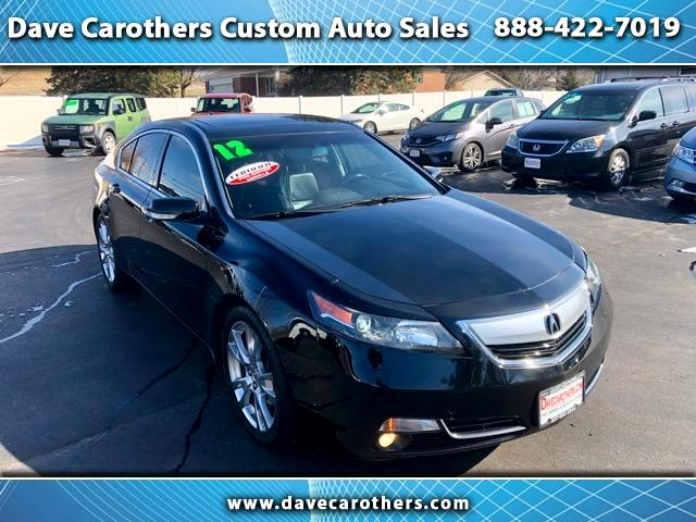 2012 Acura TL 6-Spd AT SH-AWD w/ Advance Pkg