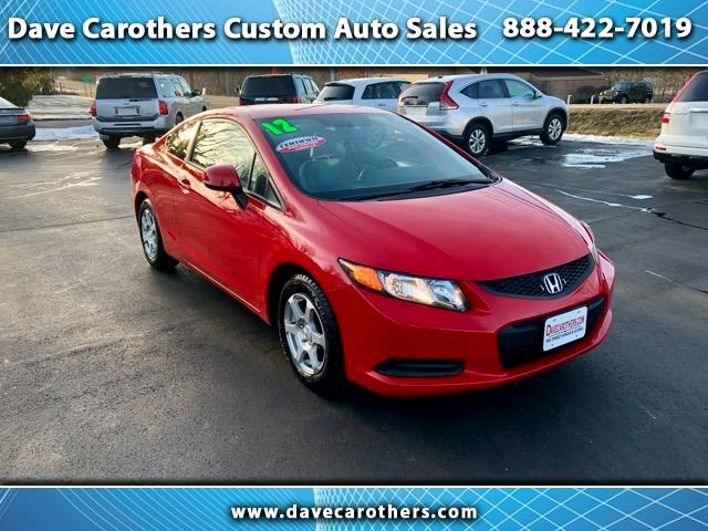 2012 Honda Civic LX Coupe CVT