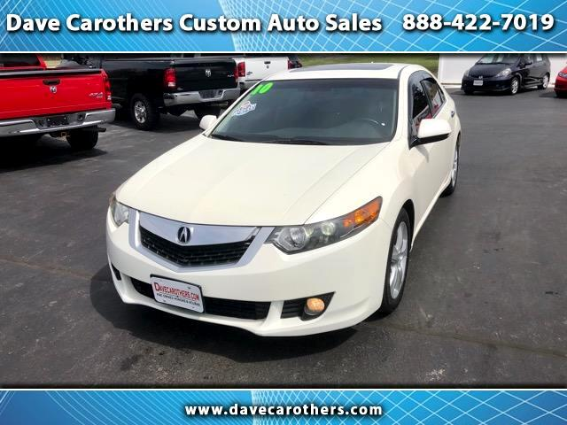 2010 Acura TSX 6-Spd MT with Navigation System