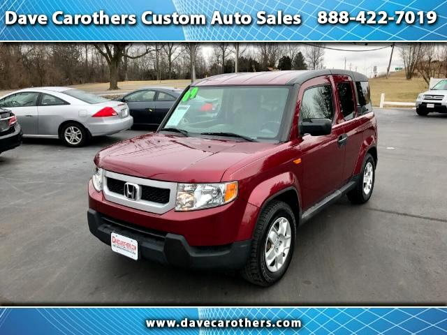 Used 2009 Honda Element Lx 4wd At For Sale In