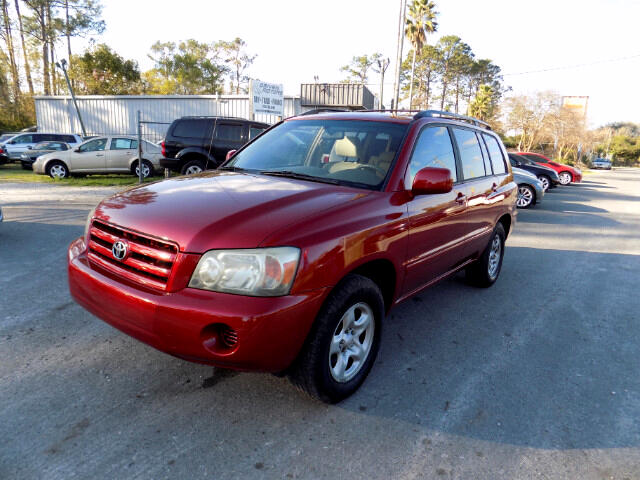 2005 Toyota Highlander 2WD with 3rd-Row Seat