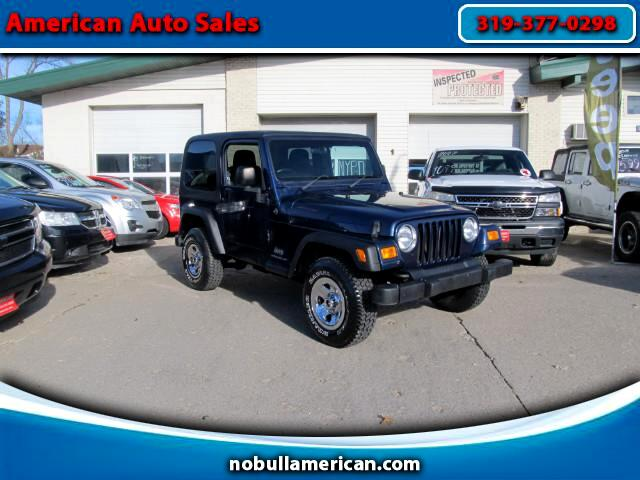 2004 Jeep Wrangler Right hand drive postal Jeep