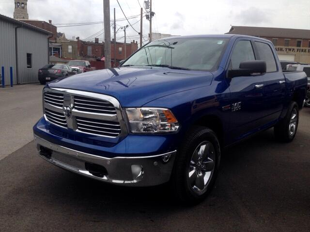 new 2016 ram 1500 big horn crew cab 4x4 ecodiesel for sale in salem in 47150 eddie gilstrap. Black Bedroom Furniture Sets. Home Design Ideas