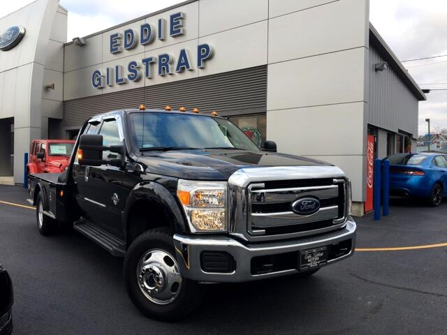 2014 Ford F-350 XLT SuperCab 4WD DRW Flat Bed