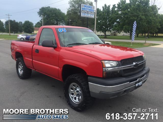 2005 Chevrolet Silverado 1500 LS Short Bed 4WD
