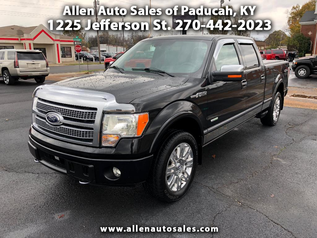 2012 Ford F-150 Platinum SuperCrew 4WD