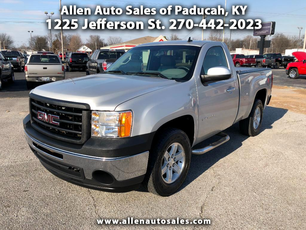 2010 GMC Sierra 1500 Work Truck Long Box 4WD
