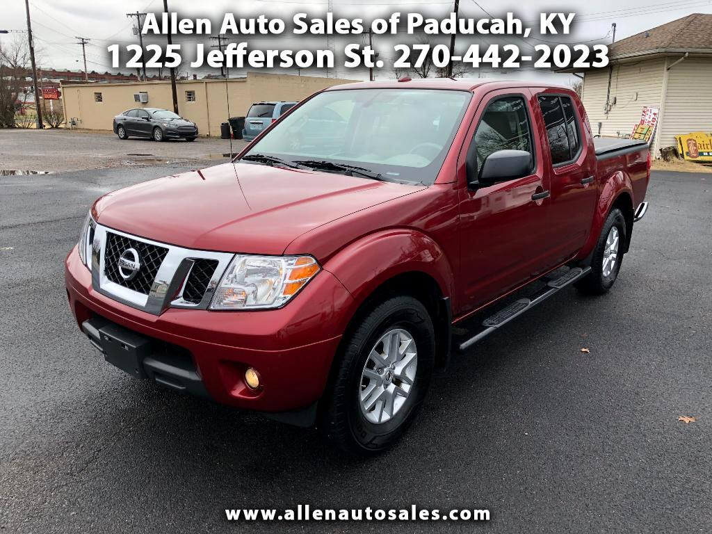 2017 Nissan Frontier SV Crew Cab 5AT 4WD