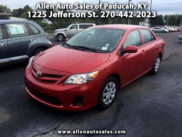 2013 Toyota Corolla 4-Speed AT