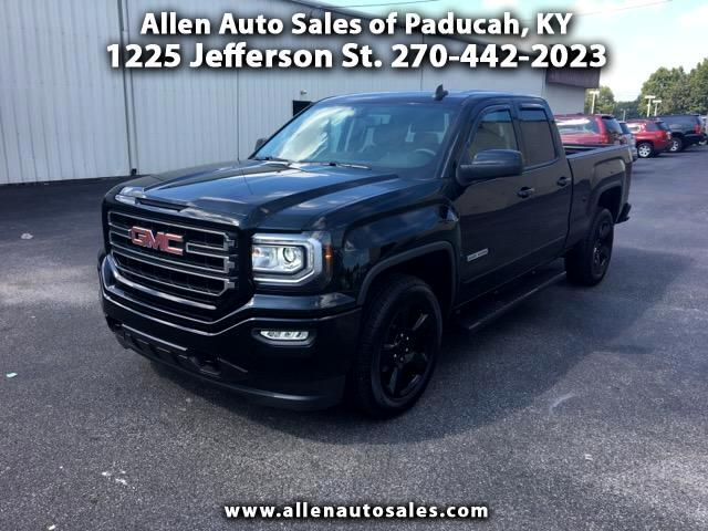 2016 GMC Sierra 1500 Elevation Edition Double Cab 2WD