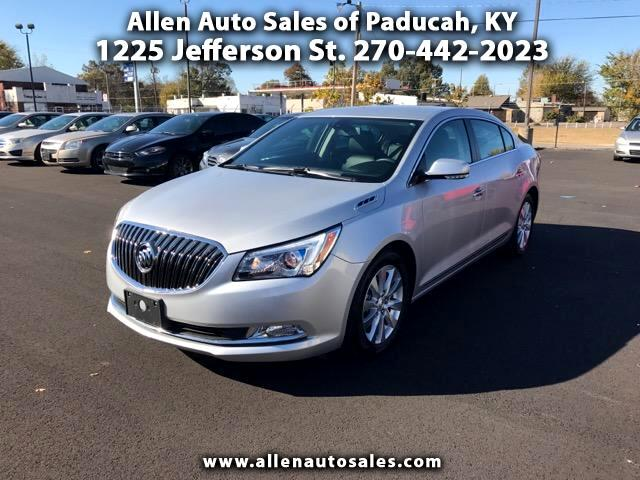 2015 Buick LaCrosse Leather Package eAssist