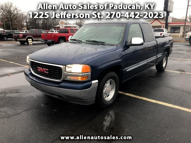 1999 GMC Sierra 1500 SL Ext. Cab Short Bed 2WD