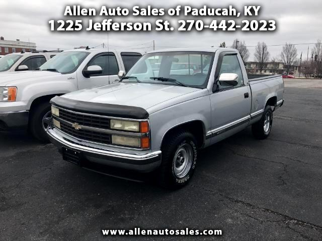 1991 Chevrolet C/K 1500 Reg. Cab W/T 8-ft. bed 2WD
