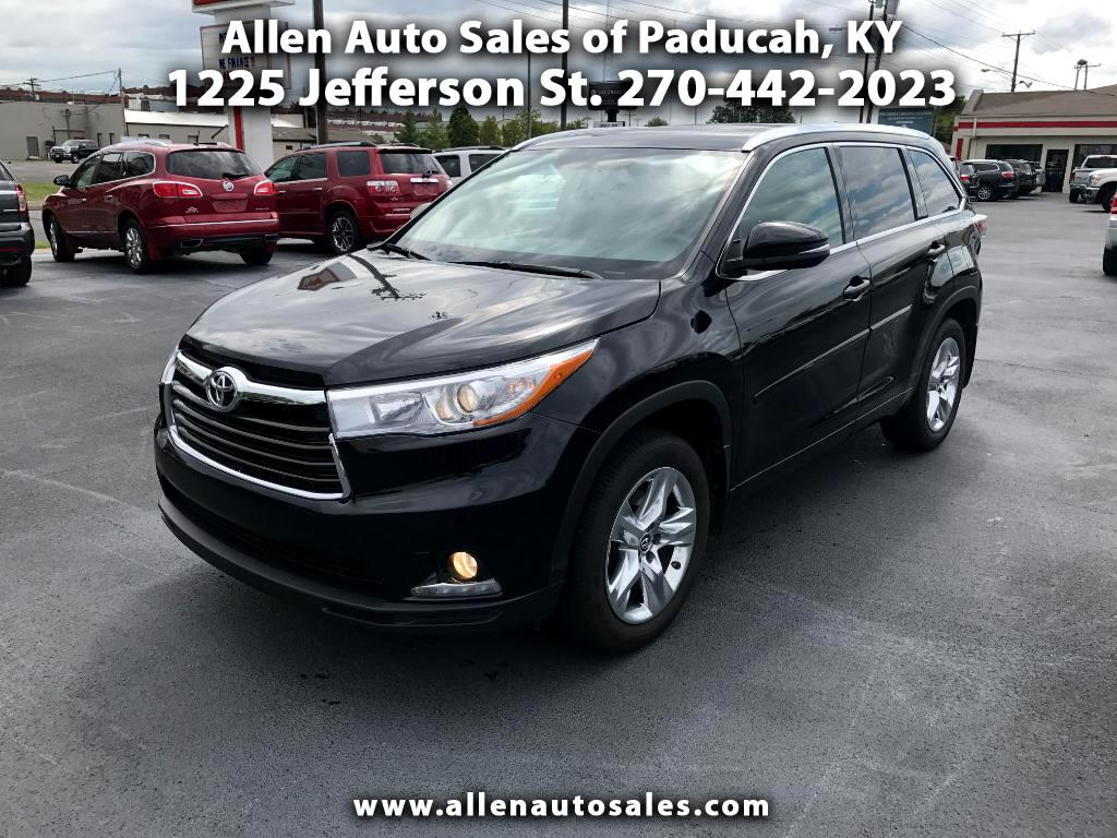 2016 Toyota Highlander Limited AWD V6