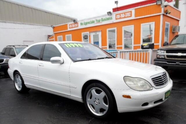 2001 Mercedes S-Class Visit Guaranteed Auto Sales online at wwwguaranteedcarsnet to see more pict