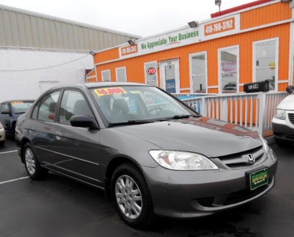 2005 Honda Civic Visit Guaranteed Auto Sales online at wwwguaranteedcarsnet to see more pictures