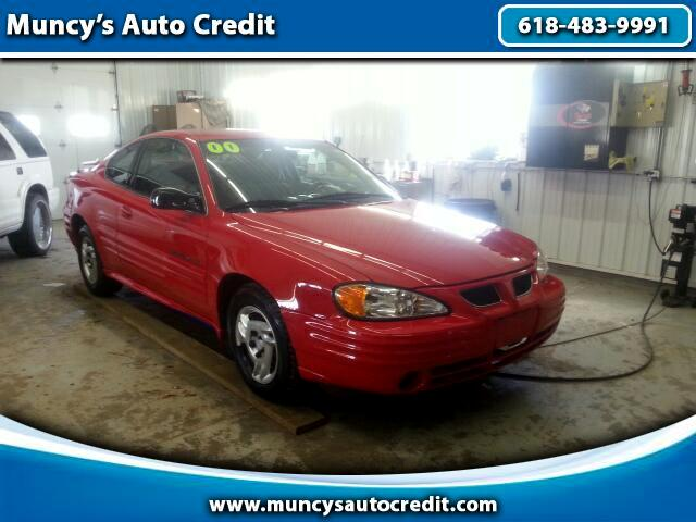 2000 Pontiac Grand Am SE coupe