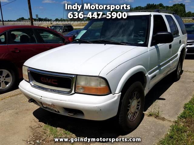 2001 GMC Jimmy SLE 4-Door 4WD