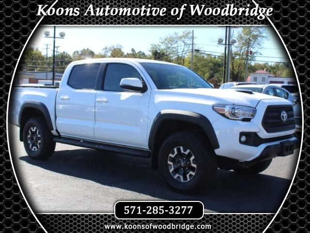 2016 Toyota Tacoma SR5 Double Cab Long Bed V6 5AT 4WD